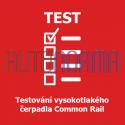 Testování vysokotlakého čerpadla Common Rail